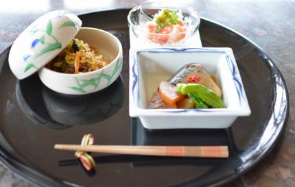 和食で。。