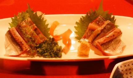 鯵&厚岸秋刀魚