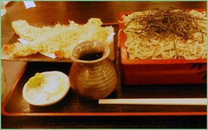 天麩羅蕎麦