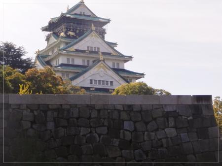 大阪城は・・・