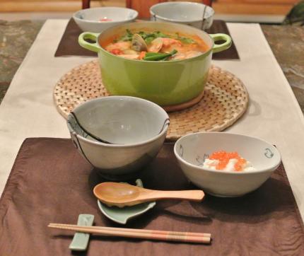 コリアン海鮮鍋