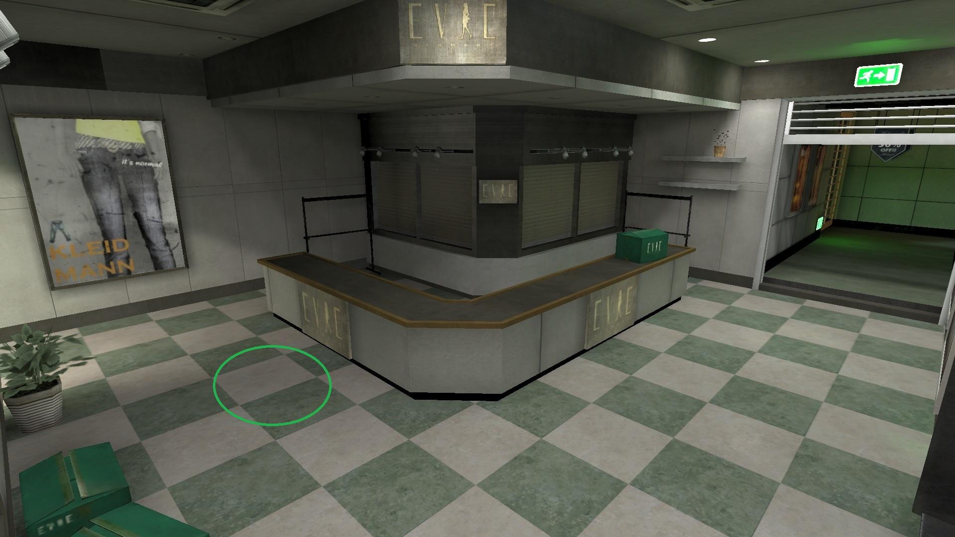 緑の円マーク