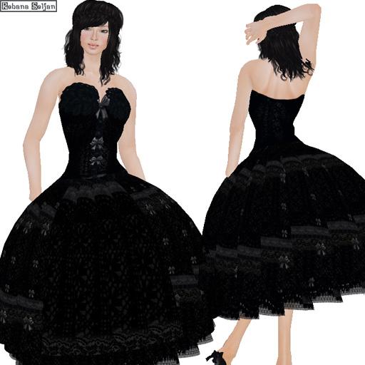 coucou jolie dress (Black)