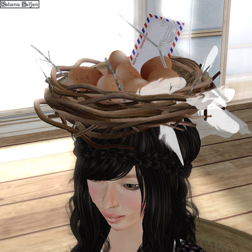 Bird nest hat (Opening gift)