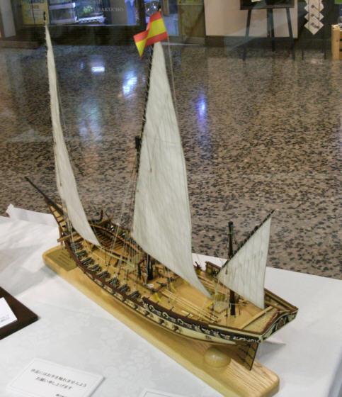ザ・ロープ木製帆船模型展2012_02