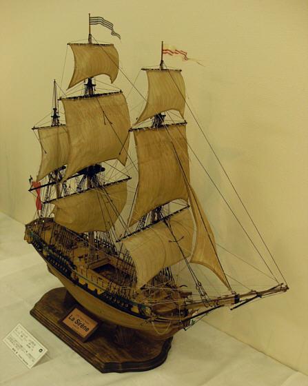 ザ・ロープ木製帆船模型展2012_07