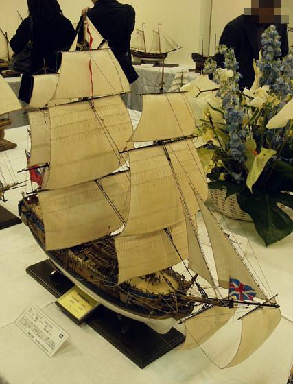 ザ・ロープ木製帆船模型展2012_09