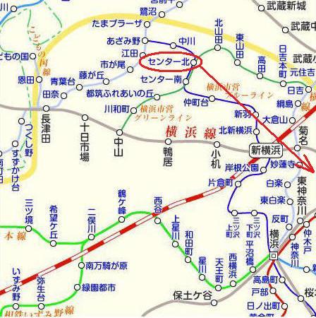 横浜路線図その2