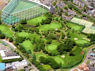 剣山スポーツガーデン俯瞰図