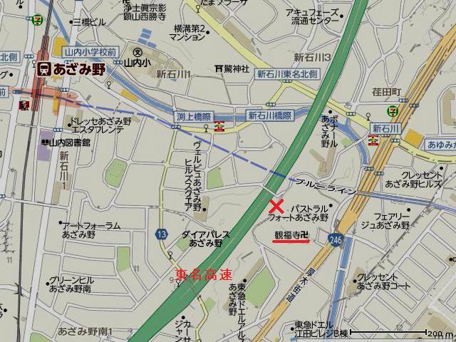 02東名あざみ野Map