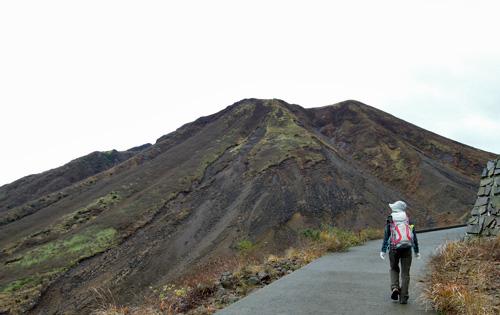 2011・11・3三俣山崩壊