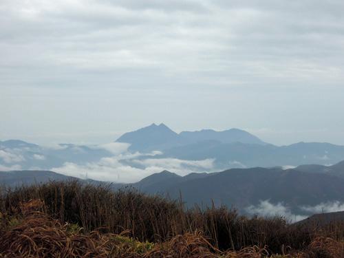2011・11・3三俣山南峰より由