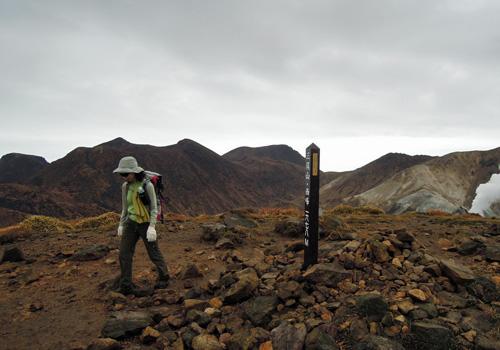 2011・11・3三俣山西峰