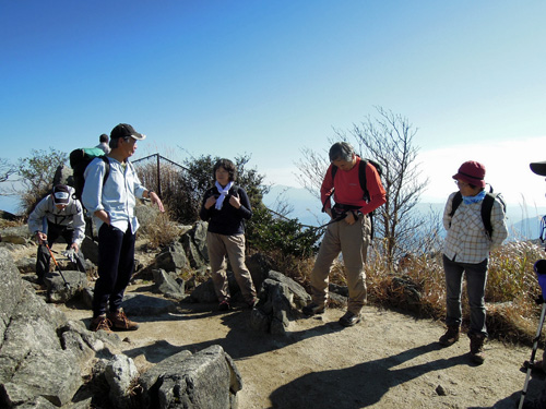 2011・11・26三郡山山頂