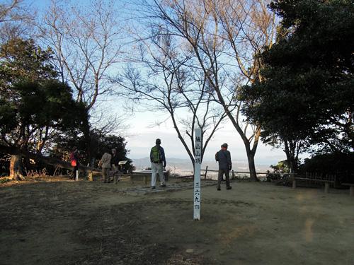 2012.1.8城山山頂