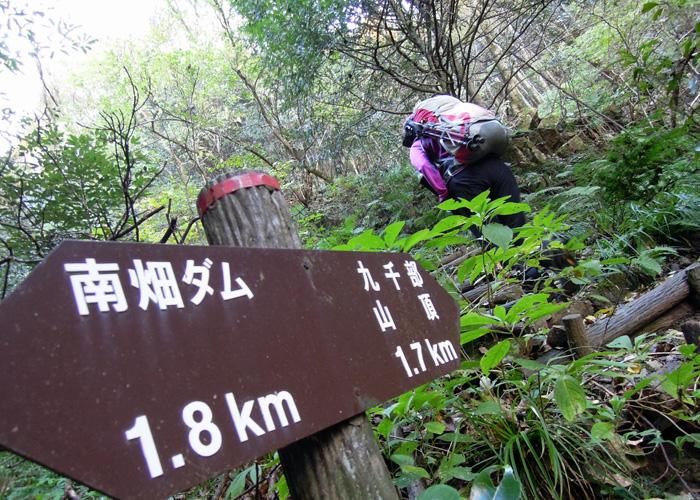 2014,11,15九千部山~蛤岳-4