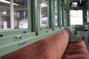 座席と窓枠
