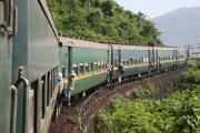 TN2列車(ハイヴァン峠通過中)