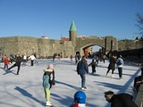 Quebec スケートリンク