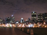 Montreal(Downtownの夜景)