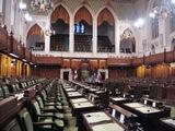 Ottawa(国会議事堂の中)
