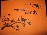キャンディーあります。