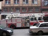 消防車(はしご)
