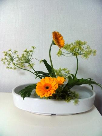 研究花練習の花でお家でいける