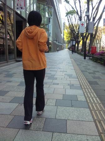 朝ラン(表参道1)