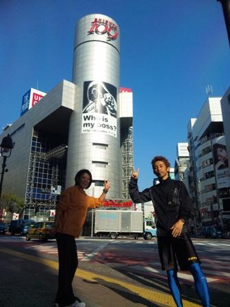 朝ラン(渋谷2)