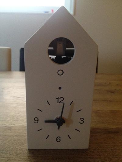ハト時計1