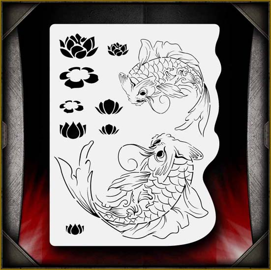 koi_pond_02_airbrush_stencil.jpg