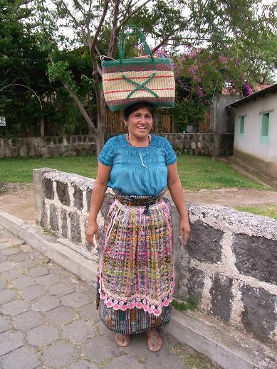 lady selling chocolate