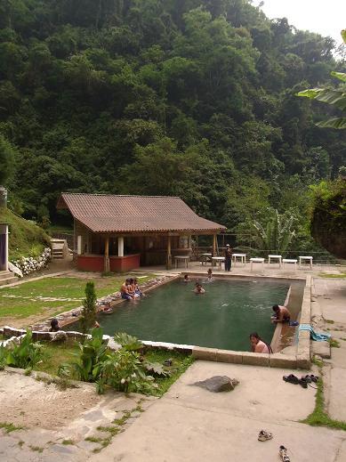 hot spring near xela