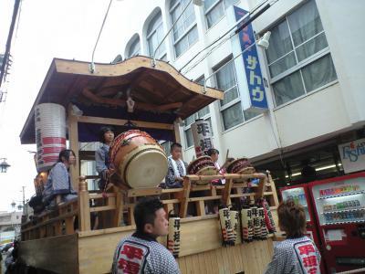 甲子祭り山車