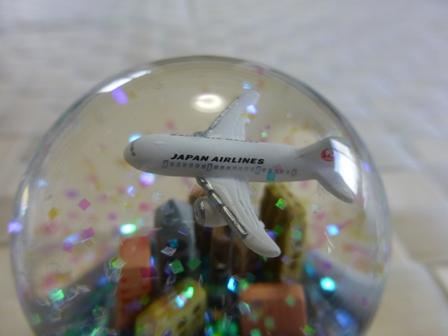 JALオリジナルスノードーム9
