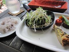 香味野菜のハンバーグ