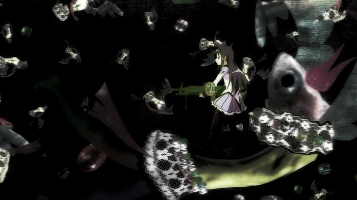 [한샛-Raws] Mahou Shoujo Madoka Maigka - 10 (BD 1920x1080 x264 AAC).mp4_001105813