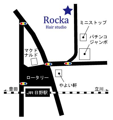 Rocka 地図 白べース