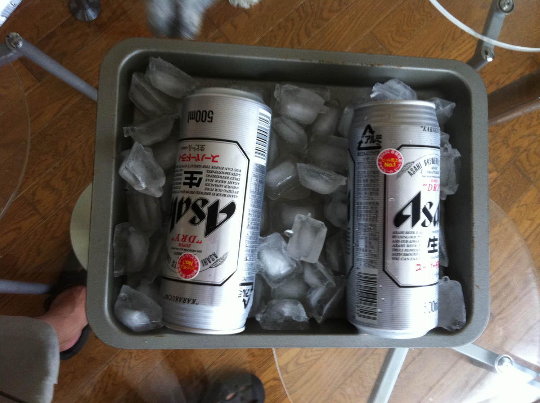 ビール冷却