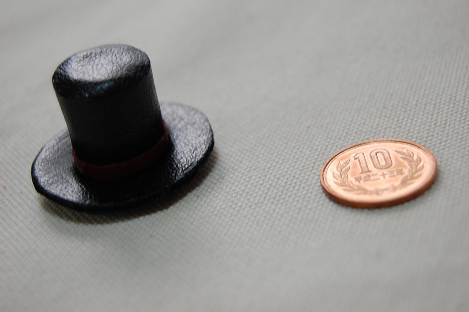 ミニチュア帽