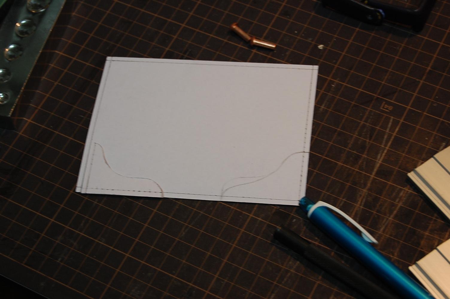 プロテクター型紙