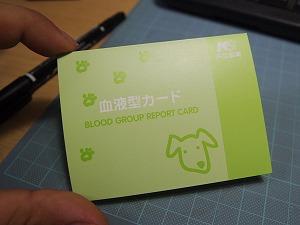 血液型カード