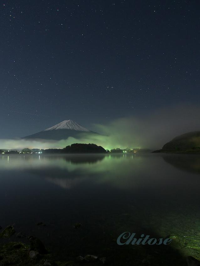 大石公園からの富士