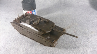 10式戦車 右前