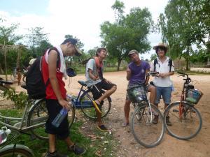 自転車途中