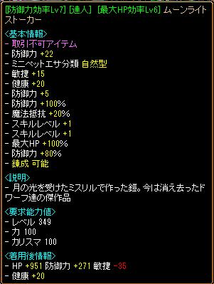 250制限用 鎧