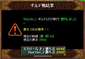 RED STONE 5月29日 Gv結果