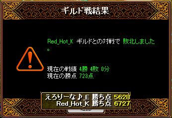 RED STONE 9月4日 Gv結果