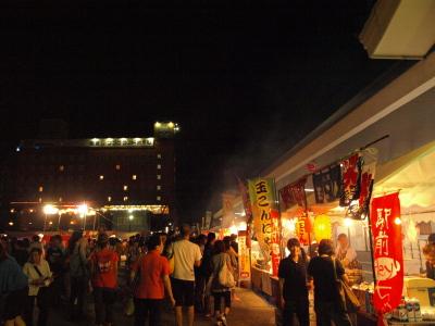 エキマエ盆踊り@会津若松駅